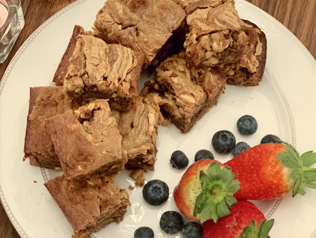 CRUNCHY PEANUT BUTTER BANANA BROWNIE