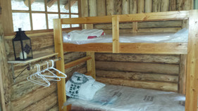 Bunk Beds at the River Cabin