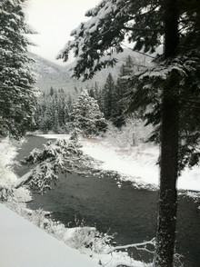 A beautiful winter view at Iron Horse!