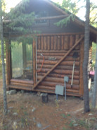 Yet another view of the River Cabin.