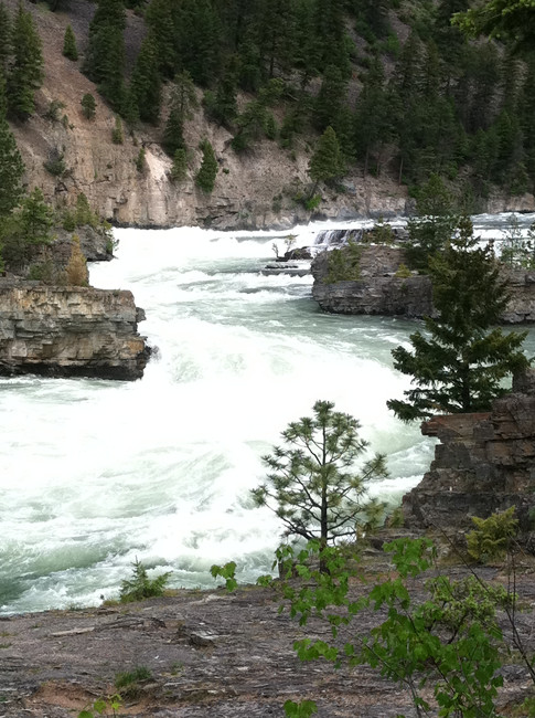 Winding Kootenai Falls!