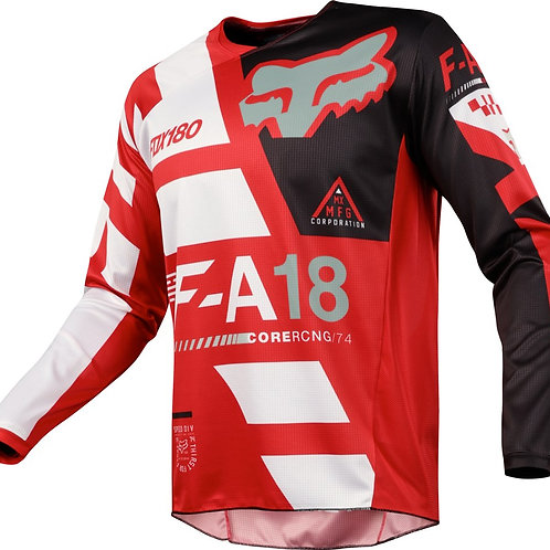 Мотоджерси Fox 180 Sayak Jersey Red
