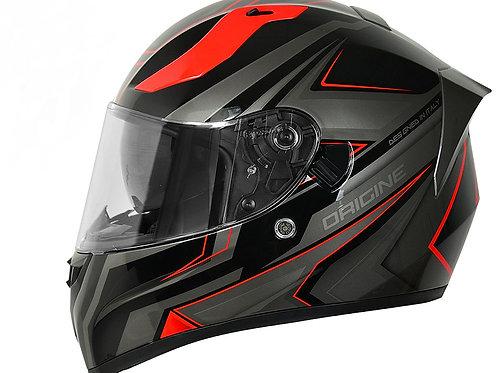 Шлем Origine Strada Graviter черный/красный глянцевый