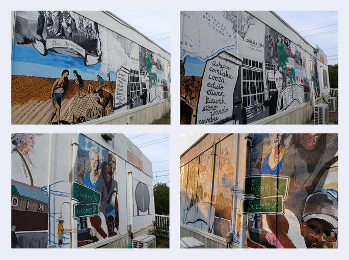 Chicora/Cherokee History Mural