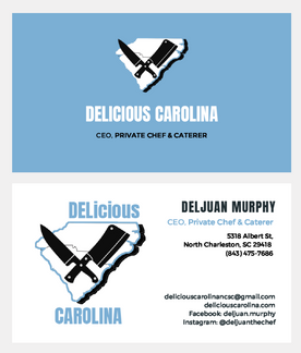 Delicious Carolina Business Cards