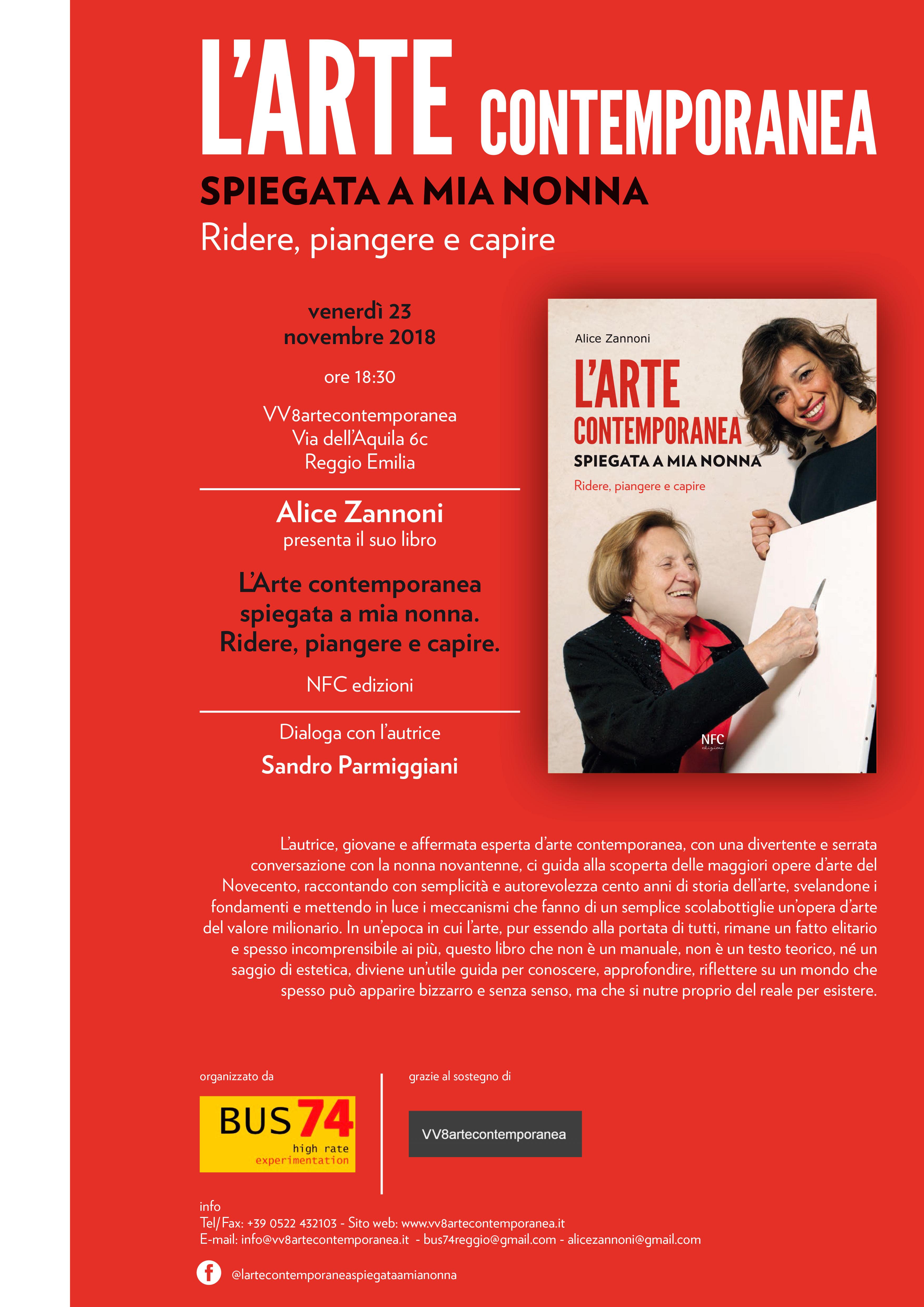 L'ARTE CONTEMPORANEA Alice Zannoni
