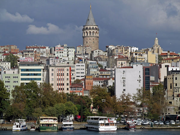 Galata Tower and the Church of San Paolo