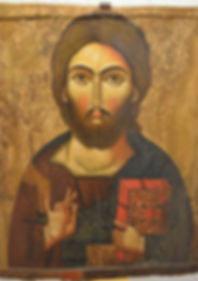 Christ Pantokrator (13th century) from M
