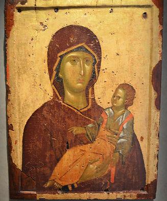 Icon of Virgin Brephokratousa (first qua