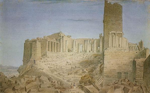 Skene (1838) Propylaea.jpg