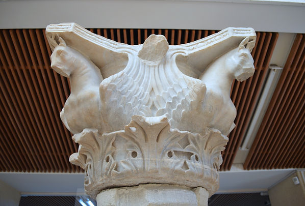 Capital with Horses from the Hippodrome.