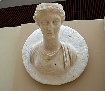 A Marble Bust of a Woman (late 2nd-early