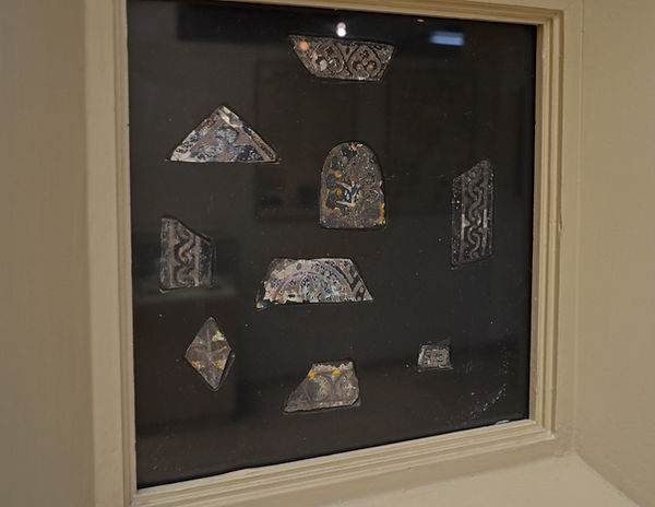 Stained Glass Fragments (c. early 12th c