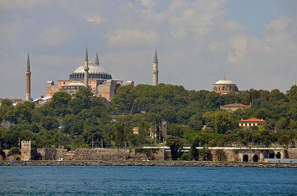 Marmara Sea Walls, Hagia Sophia and Hagi