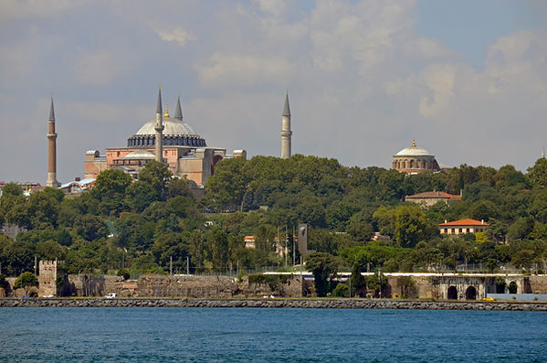 Marmara Sea Walls, Hagia Sophia and Hagi