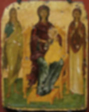 The Virgin and Child with Saint John the