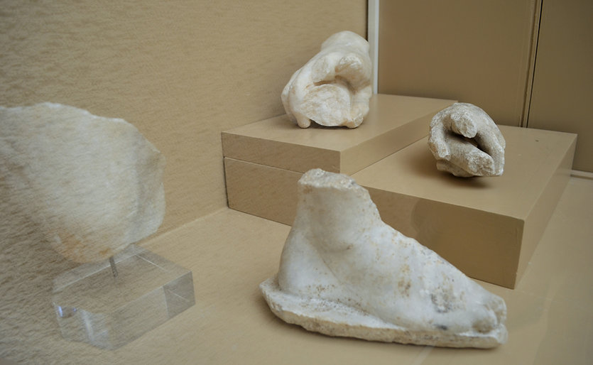 Fragments of Statues from the Antiochus