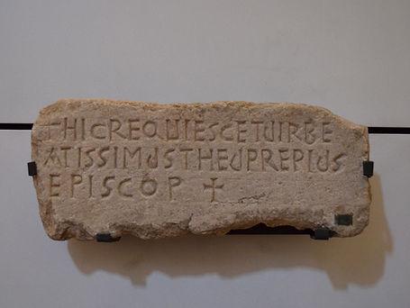 Epitaph of Bishop Theuprepius (5th-6th c