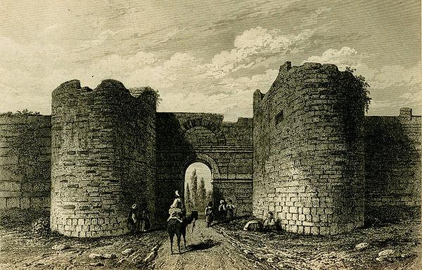 Yenisehir Gate by Charles Texier (1882).