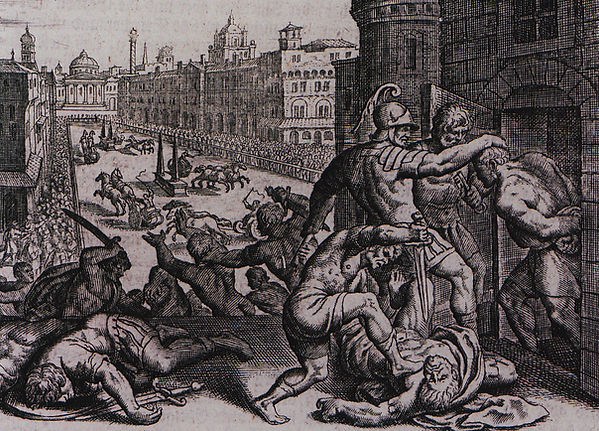 Massacre in the Hippodrome of Thessaloni