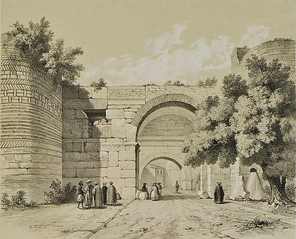 Lefke_Gate_by_Léon_de_Laborde_(1838).jpg