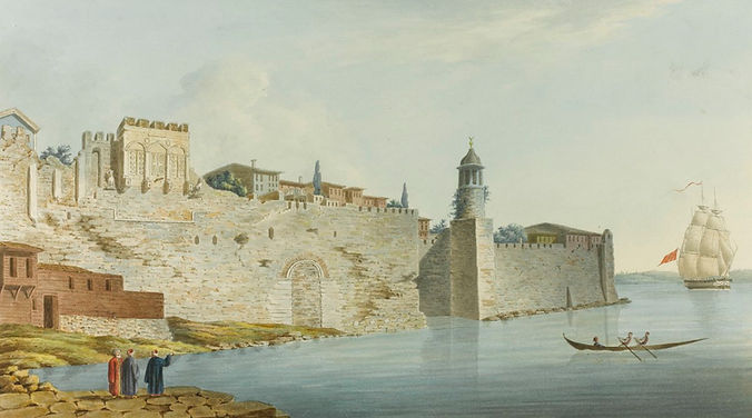 The Seaward Walls of Constantinople and