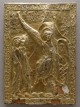 Reliquary plaque the stone from the tomb
