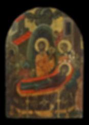 Icon with the Koimesis
