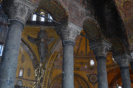 Mosaic of a Seraph at Hagia Sophia.jpg