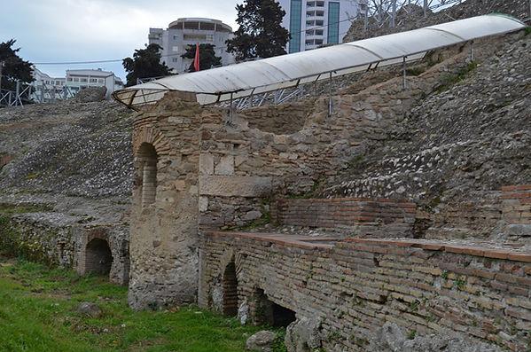 Church Amphitheater at Dyrrachium (Durrë