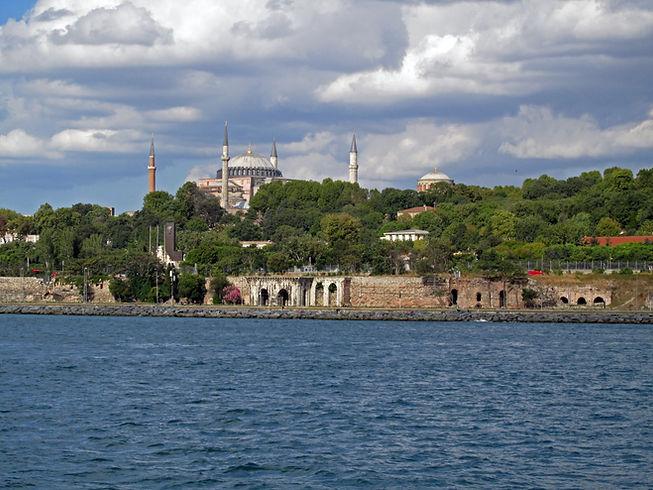 Hagia Sophia, Hagia Eirene and the Marma