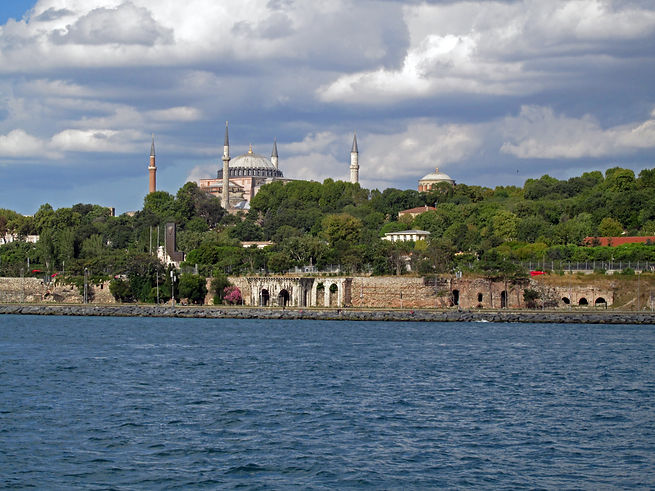 Hagia Sophia, Hagia Eirene and the Marma