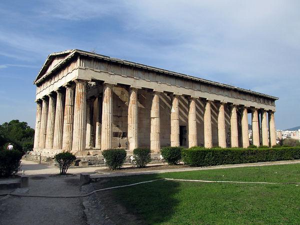Temple of Hephaestus / Church of St. Geo