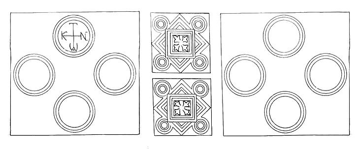 Reconstruction of Chancel with Monogram