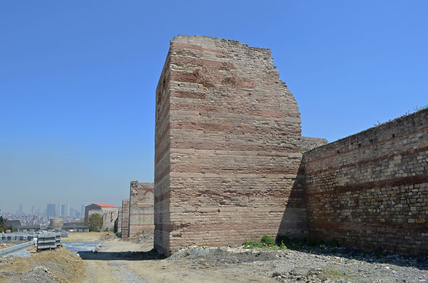 Theodosian Walls and the Palace of the P
