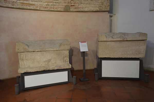 Sarcophagi from Basilica of Sant'Apollin
