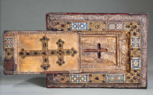 Reliquary case of the True Cross with sliding lid