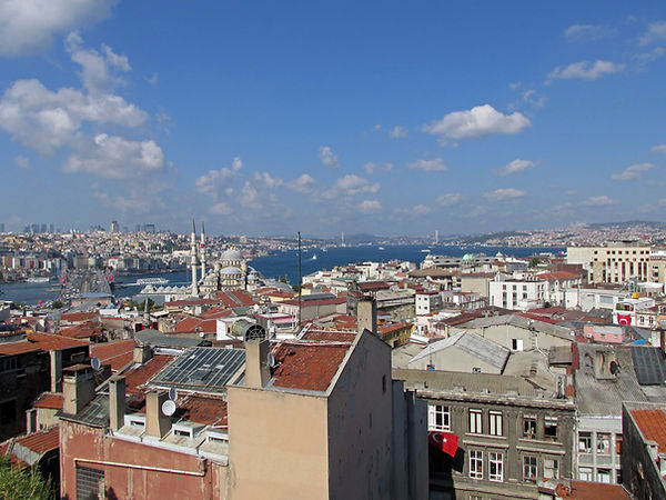 """View of Bosphorus from the so-called """"To"""
