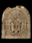 Funerary stele with eagle