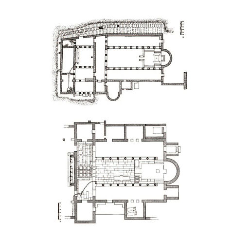 Plan of Nea Anchialos churches.jpg
