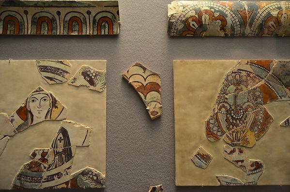 Ceramic iconostasis plaques with the Vir