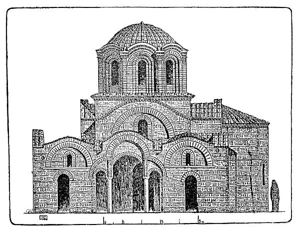 Reconstruction of Vlatadon Monastery fro