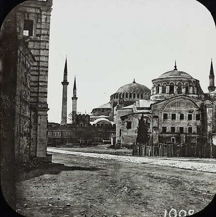 Hagia Irene and Hagia Sophia Claude-Mari