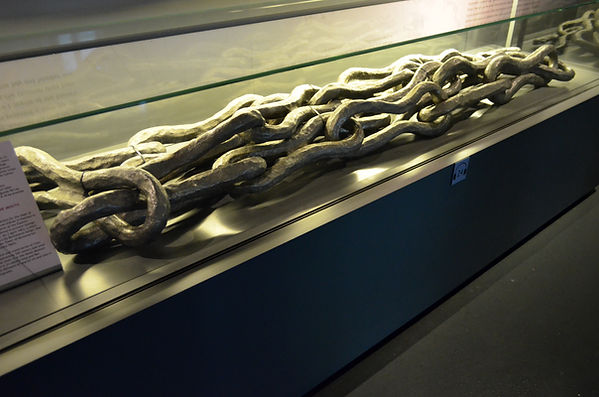 Chain of the Golden Horn at Istanbul Nav