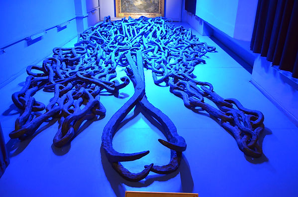 Chain of the Golden Horn at Istanbul Mil