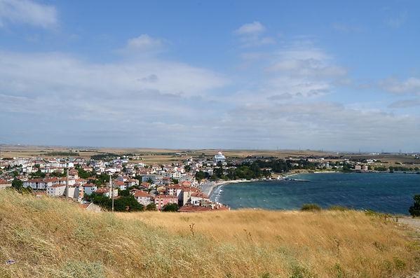 View of Marmara Ereğlisi from Acropolis.
