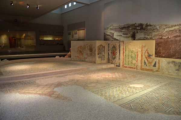 Triclinium from a house in Thessaloniki