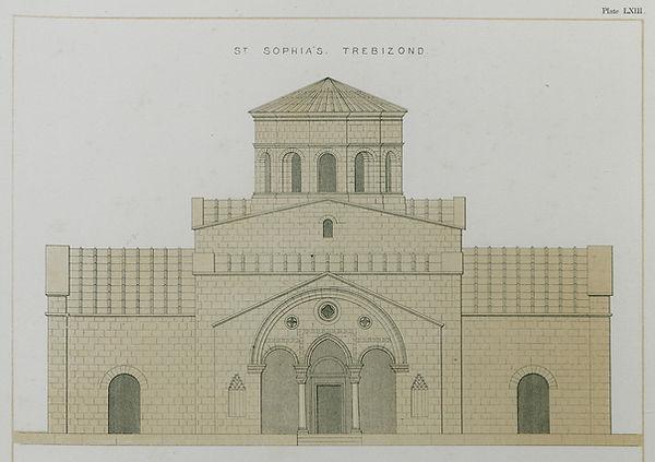 Hagia Sophia by Charles Texier (1864).jp