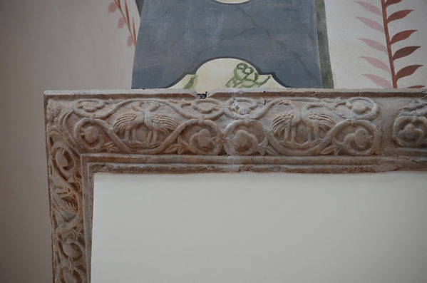 Cornice in the North Church of the Panto