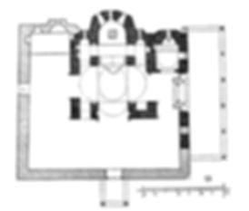 Vlatadon Monastery Plan from Xyngopoulos